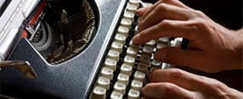 Are typewriters making a comeback?